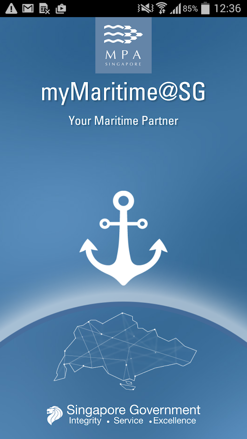 myMaritime@SG- screenshot
