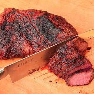 Sweet and Spicy Grilled Tri-Tip.