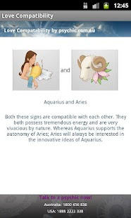 Compatibility Love Horoscopes- screenshot thumbnail