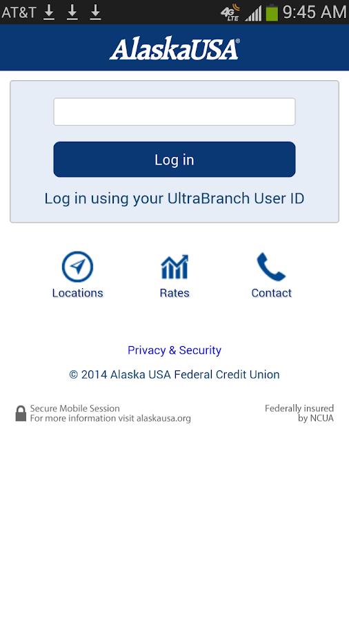Alaska USA FCU- screenshot