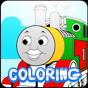 Thomas And Train Coloring LOGO-APP點子
