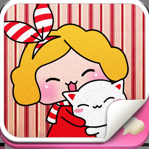 小美麗表情, 動漫傳情 個人化 App LOGO-硬是要APP