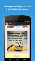Screenshot of Imagens com Mensagens de Amor