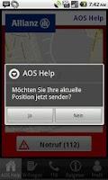 Screenshot of AOS Help