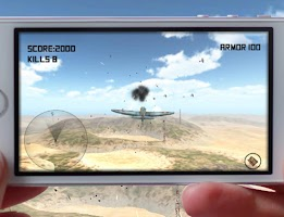 Screenshot of WWII War Jet fighter