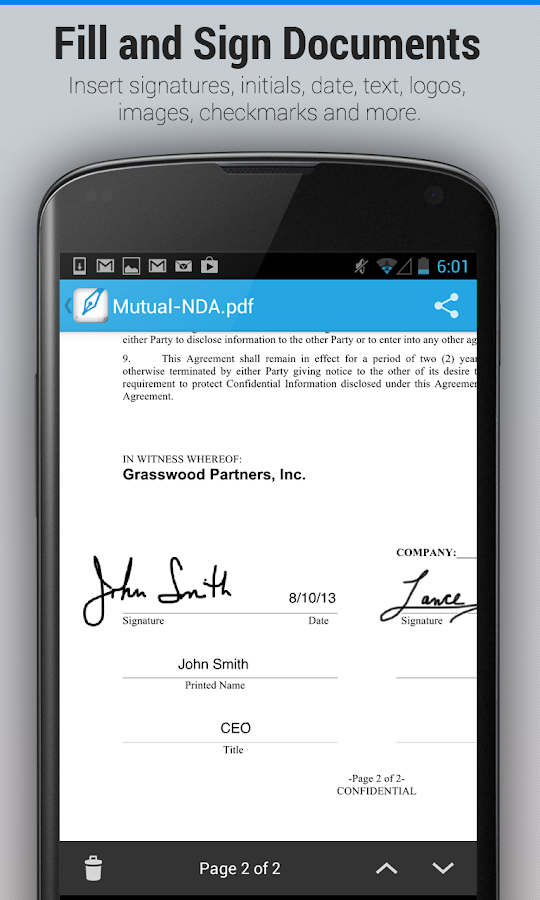 SignEasy:Sign & Fill Documents - screenshot