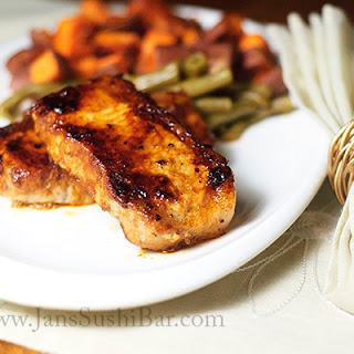 Chipotle Glazed Pork Chops