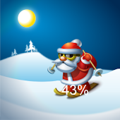 Santa Claus Battery Widget pro