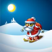 Santa Claus Battery Widget pro