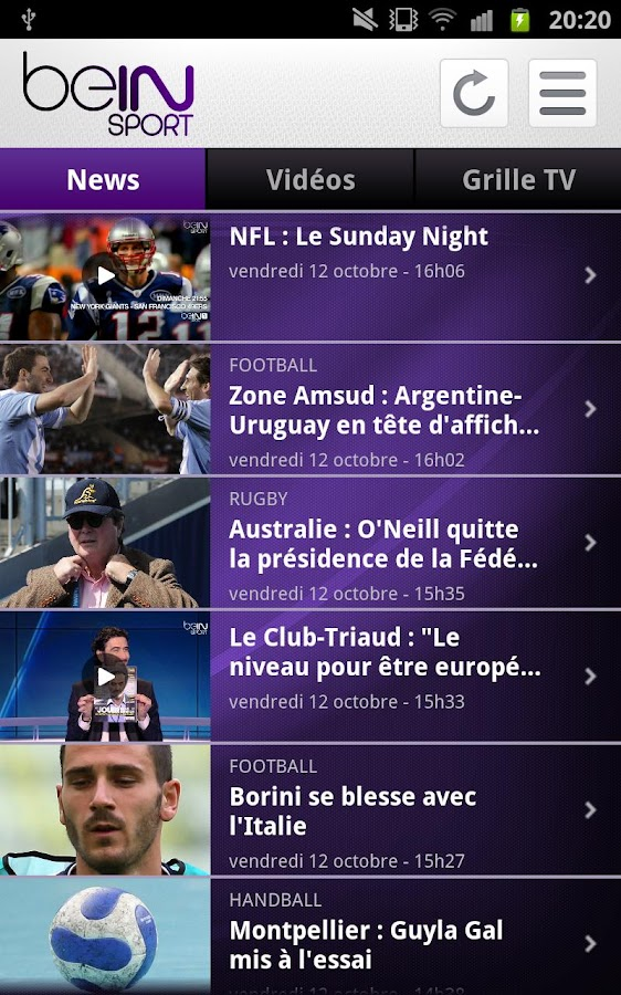 beIN Sport android