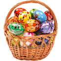 Easter basket Widget logo