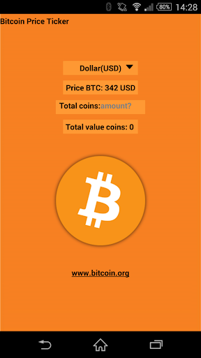 ZZZ Bitcoin BTC price ticker