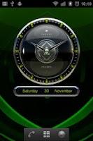 Screenshot of Trumph Designer Clock Widget