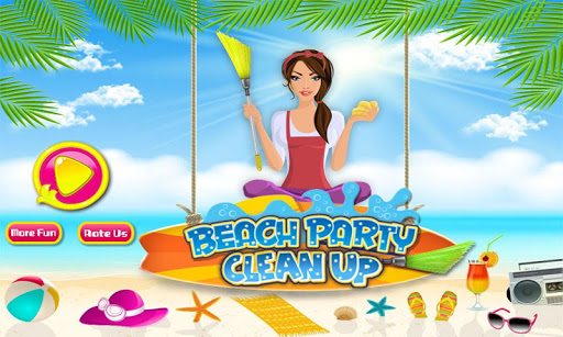 Beach Party Clean Up