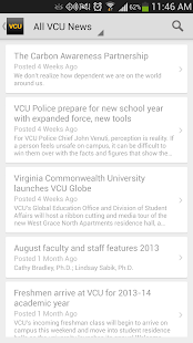 VCU Mobile- screenshot thumbnail