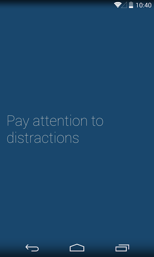 Oblique Strategies – Screenshot