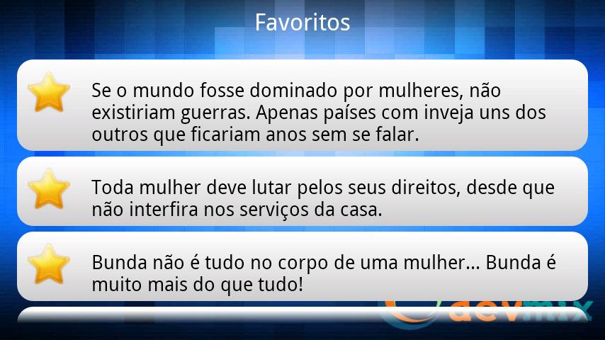Frases Machistas Engraçada SMS - screenshot