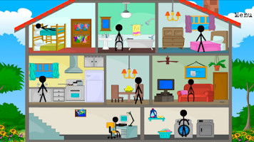 Screenshot of Stickman killer