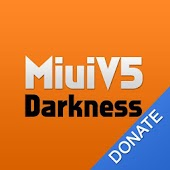 MiuiV5 Darkness Theme Donate