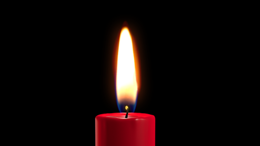 شمعة الحب