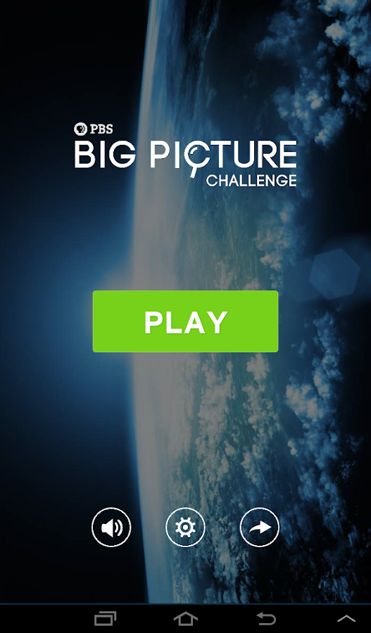 PBS Big Picture Challenge - screenshot