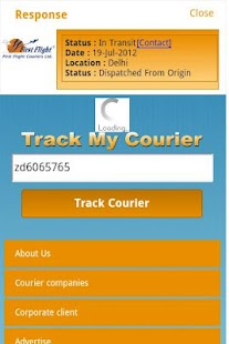 Track My Courier- screenshot thumbnail