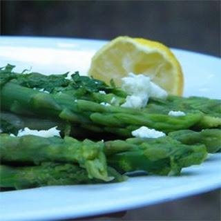 Minted Lemon Asparagus.