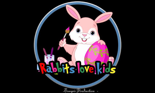 ウサギは子供を愛して