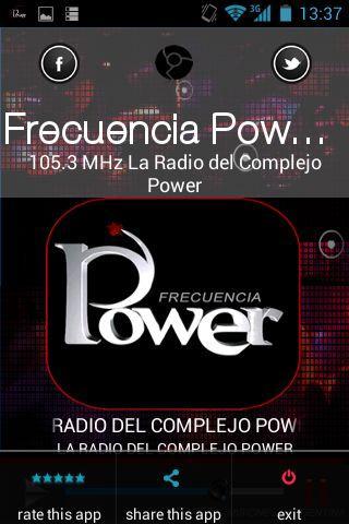 FRECUENCIA POWER 105.3 MHz