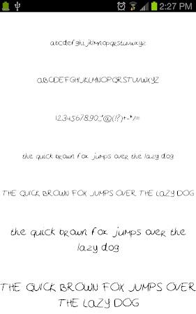 Neat Fonts for FlipFont free 3.16.1 screenshot 1962594