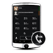 Dark WP7 theme for exDialer