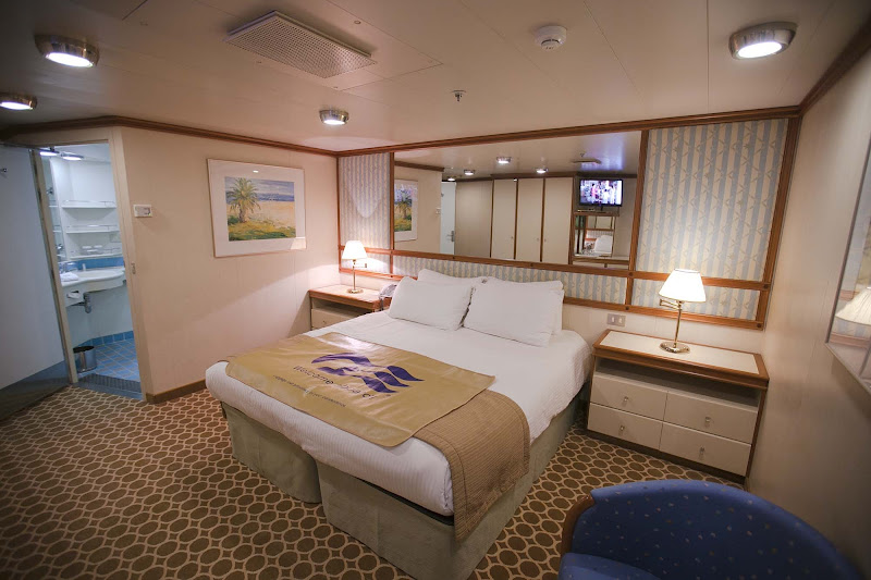 One of the accessible staterooms, A312 on deck 12, aboard Star Princess.
