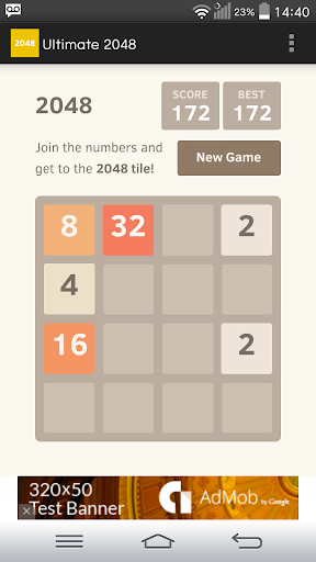 Ultimate 2048 ad free