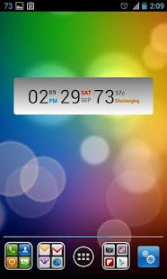 Battery Clock Calendar - screenshot thumbnail