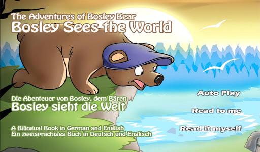Bosley Sees the World German