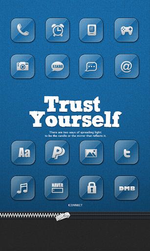 Trust Yourself Icon theme