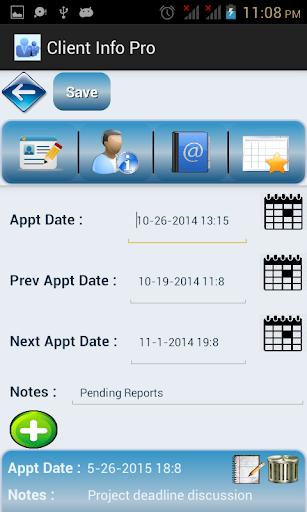 【免費生產應用App】Client Info Pro-APP點子