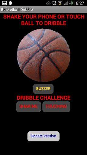 Basketball Dribble Donate