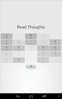 Screenshot of Read Thoughts