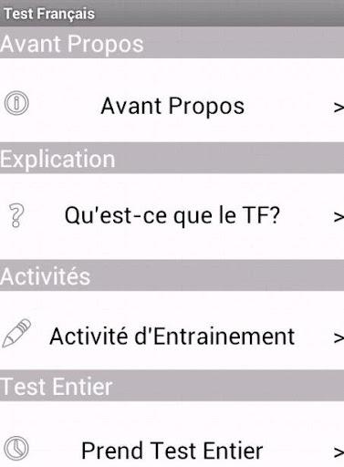 Test Français