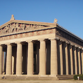 parthenon by Holly Herrmann - Buildings & Architecture Statues & Monuments ( nashville )