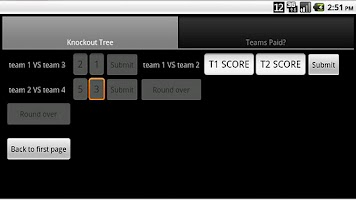 Screenshot of Tournament Organiser FREE
