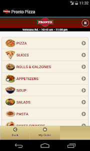 Pronto Pizza screenshot 0