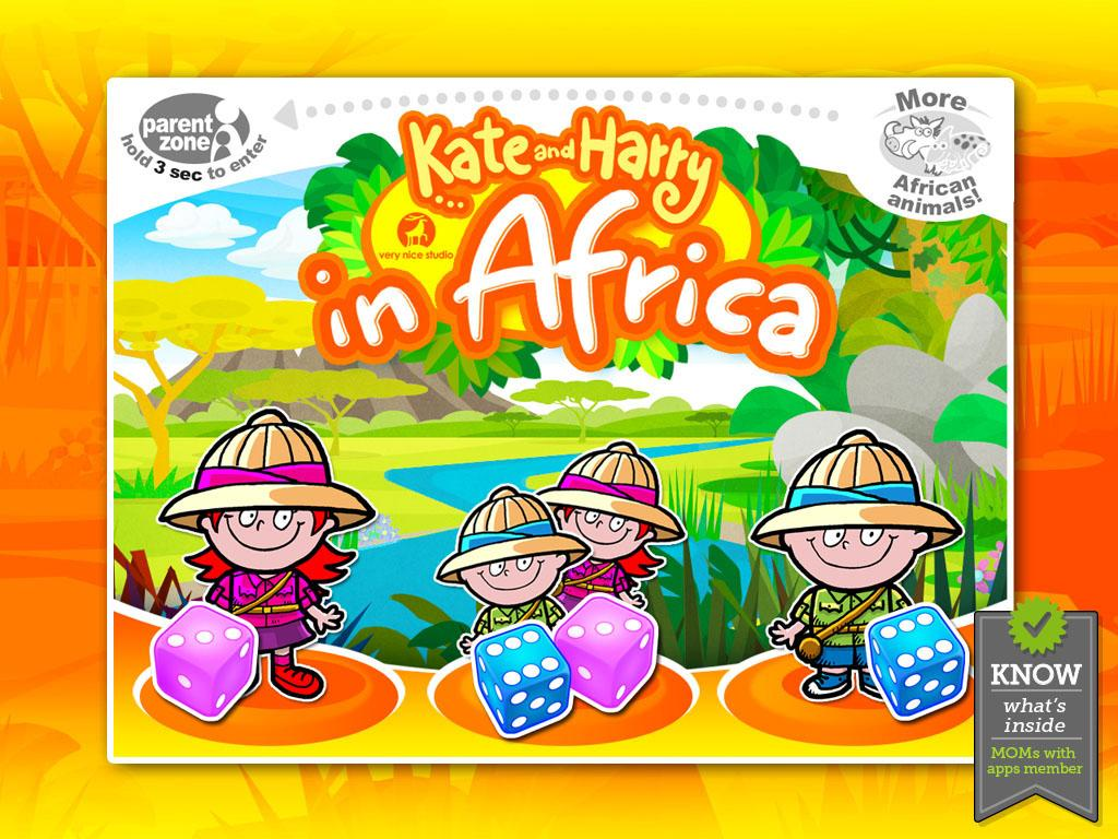 Kate and Harry in Africa- screenshot