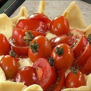 Cheese And Tomato Tart.