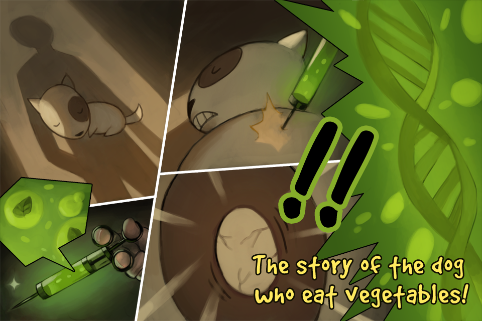 Veggie Dog- screenshot