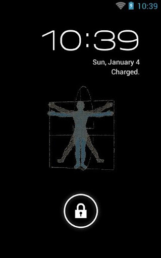 Vitruvian Live Wallpaper