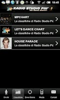 Screenshot of Radio studio piu - studiopiu