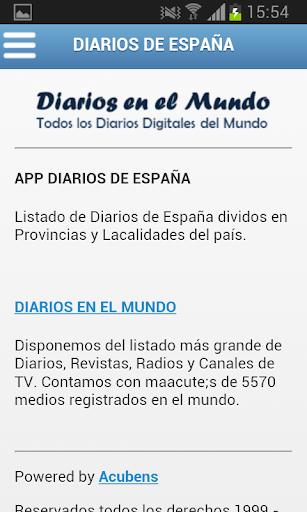 【免費新聞App】Diarios de España-APP點子