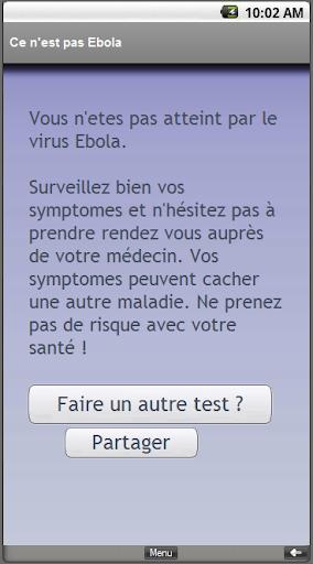 Suis-je contaminé par Ébola